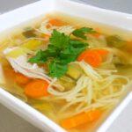 Płodna kuchnia: Zupa z kurczaka