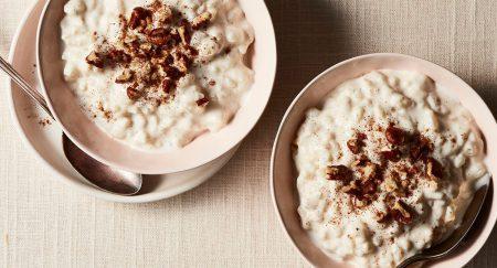 Płodna Kuchnia: Pudding z brązowego ryżu